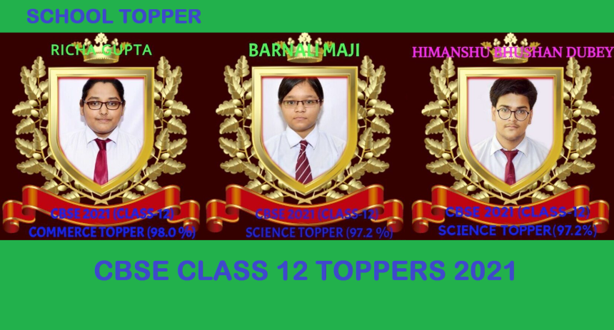 CBSE CLASS-12 TOPPERS 2021