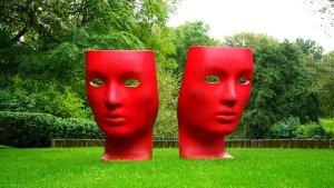 sad masks