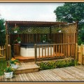 Deck with patio and hot tub joy studio design gallery best design