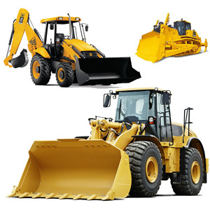 Bulldozers, Backhoes and Loading Shovels