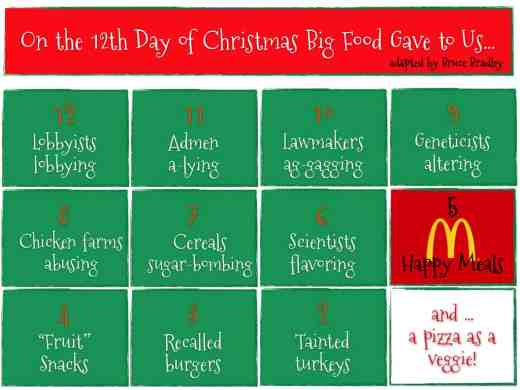 Big Food's 12 Days of Christmas