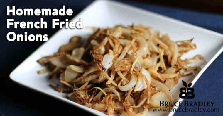 Homemade French Fried Onions make a great addition to your favorite meals