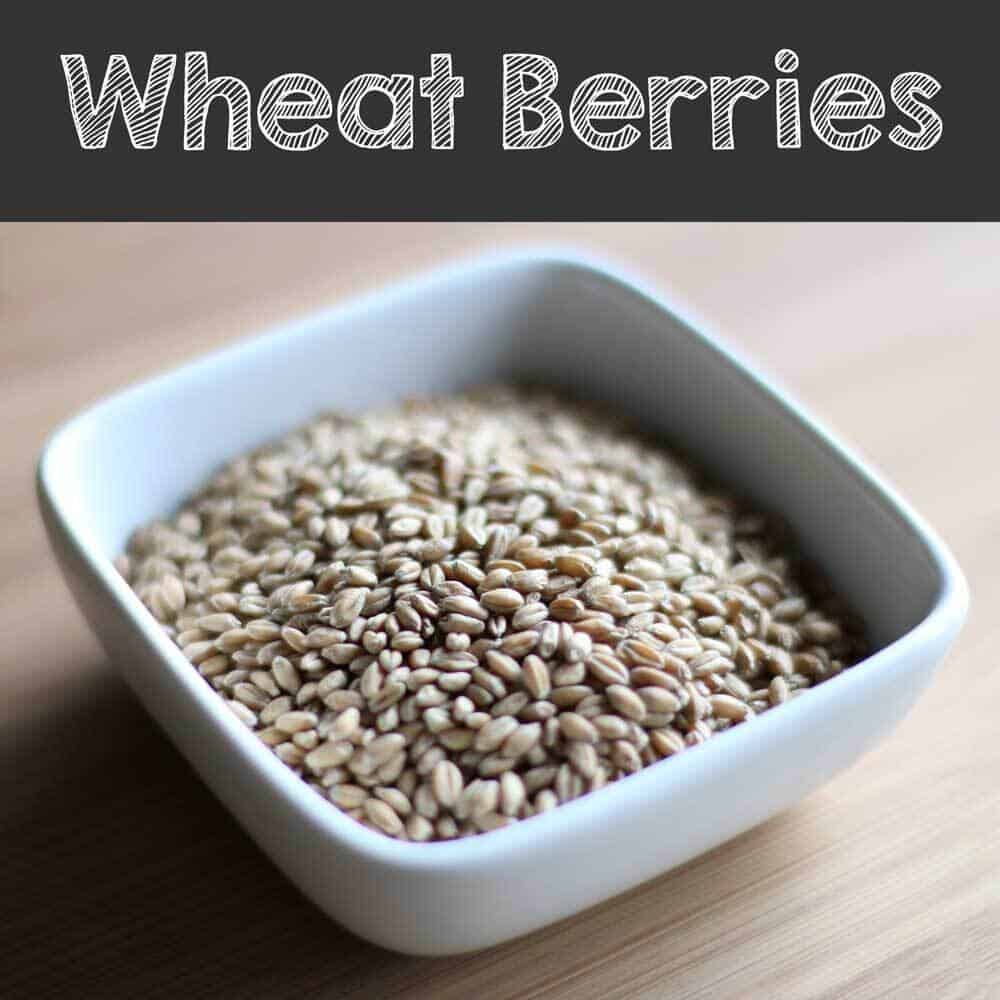 Wheat berry grain
