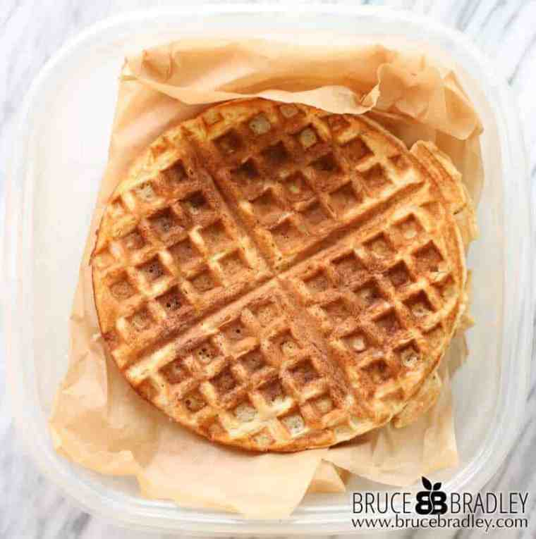 Bruce Bradley's one bowl, whole grain waffles are quick, easy and freeze well. Here's how.