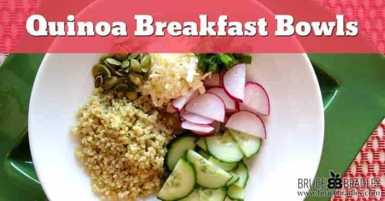 Quinoa Breakfast Bowls are a delicious and nutritious option for busy mornings. Just a little advanced prep will make this healthy morning meal a breeze!
