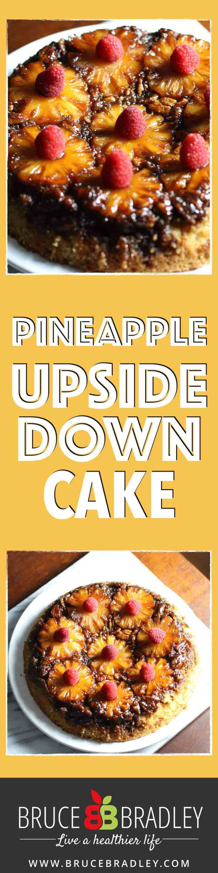 A delicious, unprocessed version of the classic Pineapple Upside-Down Cake recipe. It's perfect for any celebration, and it's super easy since there's no decoration required!