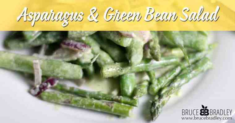 My Asparagus and Green Bean Salad proves that two great tastes can taste even better together! So delicious and easy, it's a perfect for any night of the week!