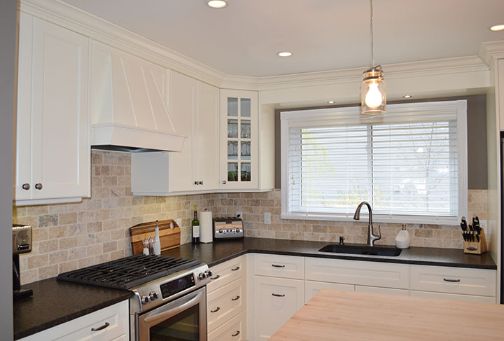 Bruce County Custom Cabinets White Kitchen Renovation
