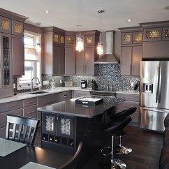 Custom Kitchen Range Hood Bruce County Cabinets Kitchens Contemporary Grey