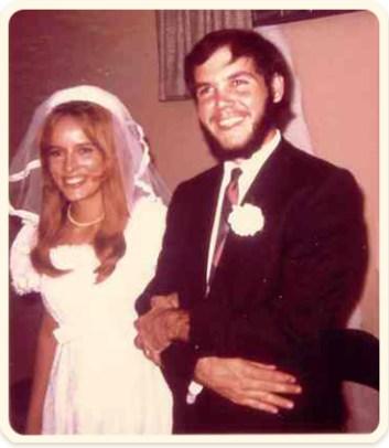 Kathy and Bruce wedding photo