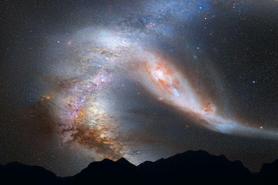 Milky Way Galaxy Doomed