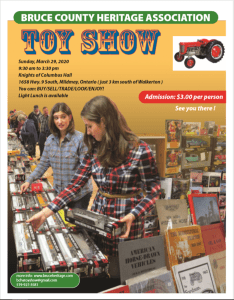 Bruce County Heritage Association Toy Show