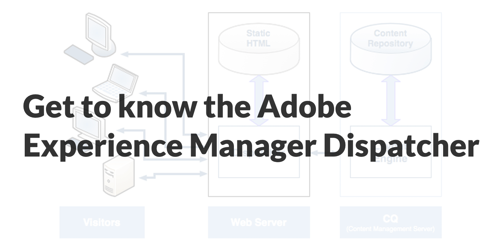Get to know the Adobe Experience Manager Dispatcher
