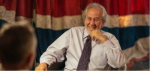 Bruce Lipton with London Real's host Brian Rose.
