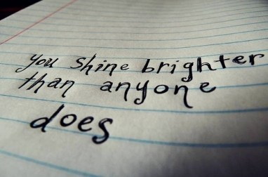 you shine brighter