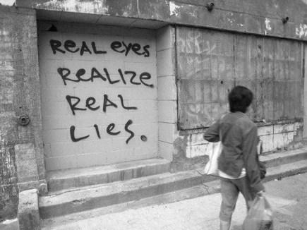 lies real eyes real lies