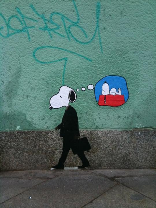 growing up sucks Grownup-Snoopy