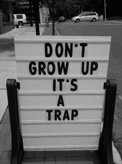 growing up sucks trap
