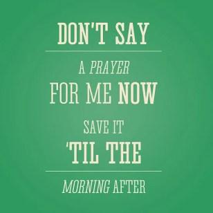 80s save a prayer
