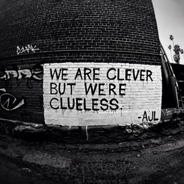 clueless clever-but-we-are-clueless
