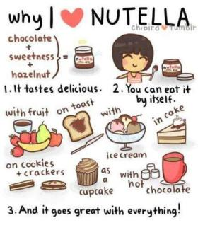 nutella why i love