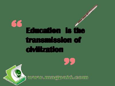 education civilization
