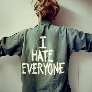 angry at everyone