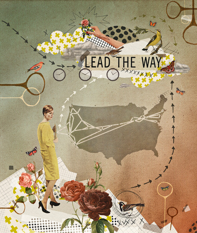 lead the way print