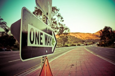 leading one way