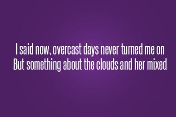 prince overcast days never