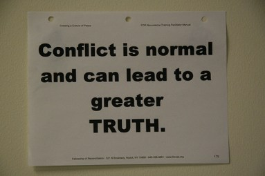 truth and conflict