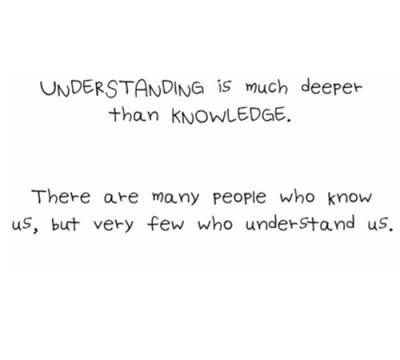 few people understand