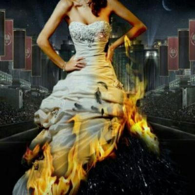 hunger games girl on fire