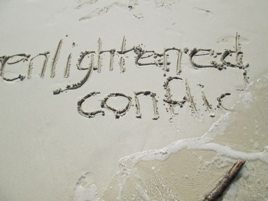 enlightened conflict sand less
