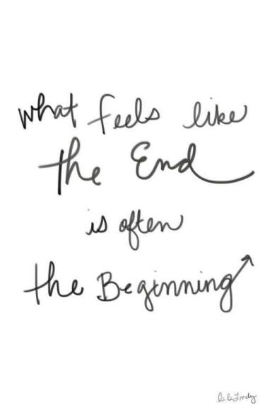 beginning feels end
