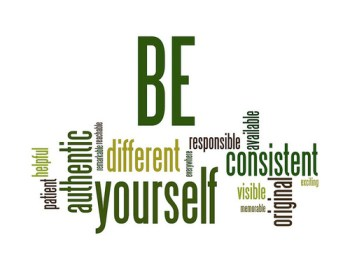 consistent be-yourself