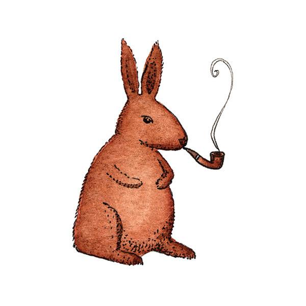 rabbit smoking