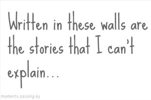 stories on walls