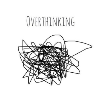 over thinking mess