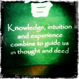 intuition knowledge wisdom