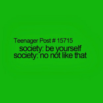 be yourself society no