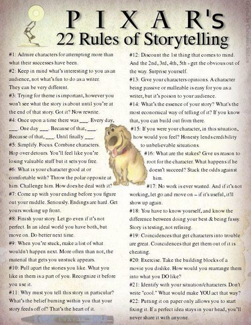 storytelling pixar