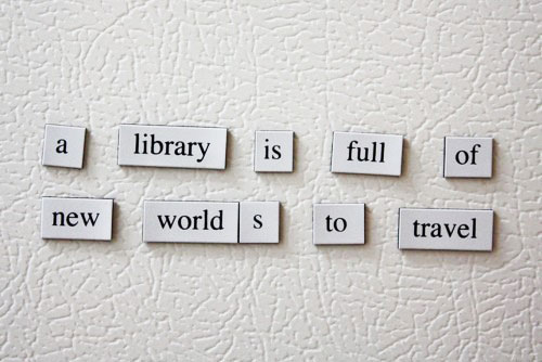 reading is traveling words