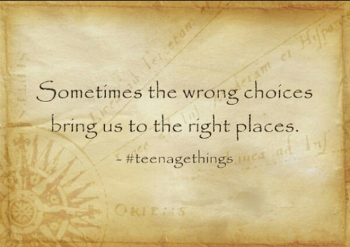 right thing wrong choice