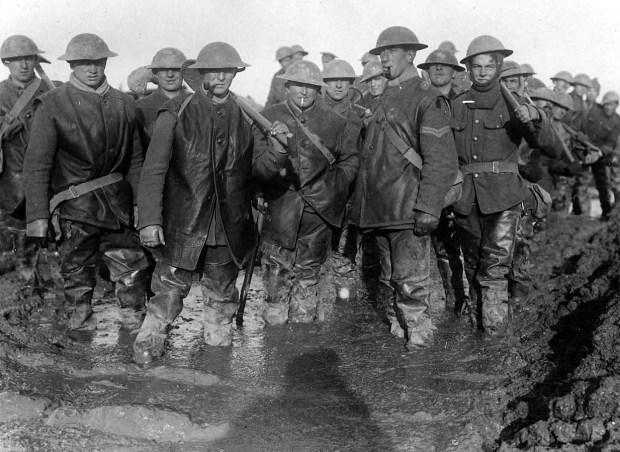 ww1 british soldiers