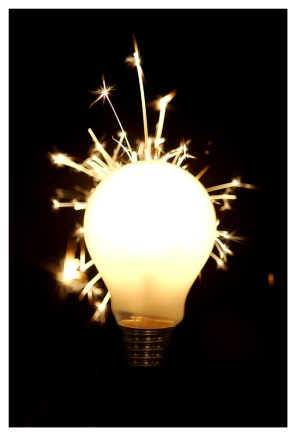 creative spark light bulb