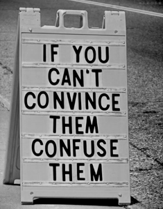 confuse minority