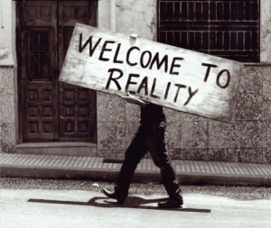 reality welcome sign