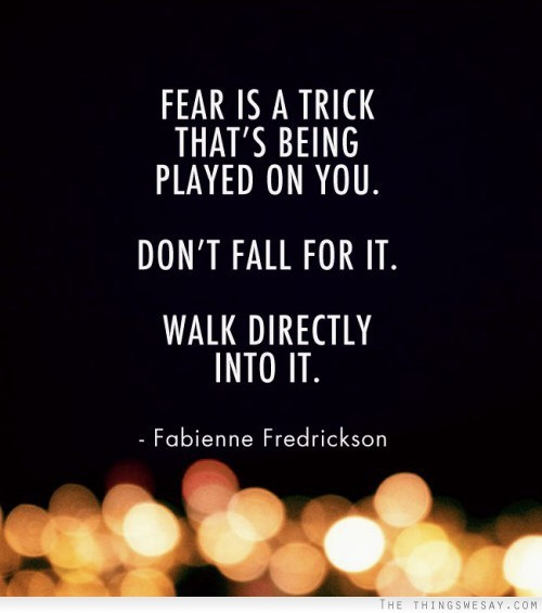 2014 fear is a trick