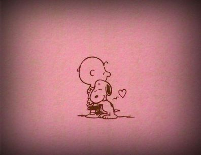 dog love snoopy